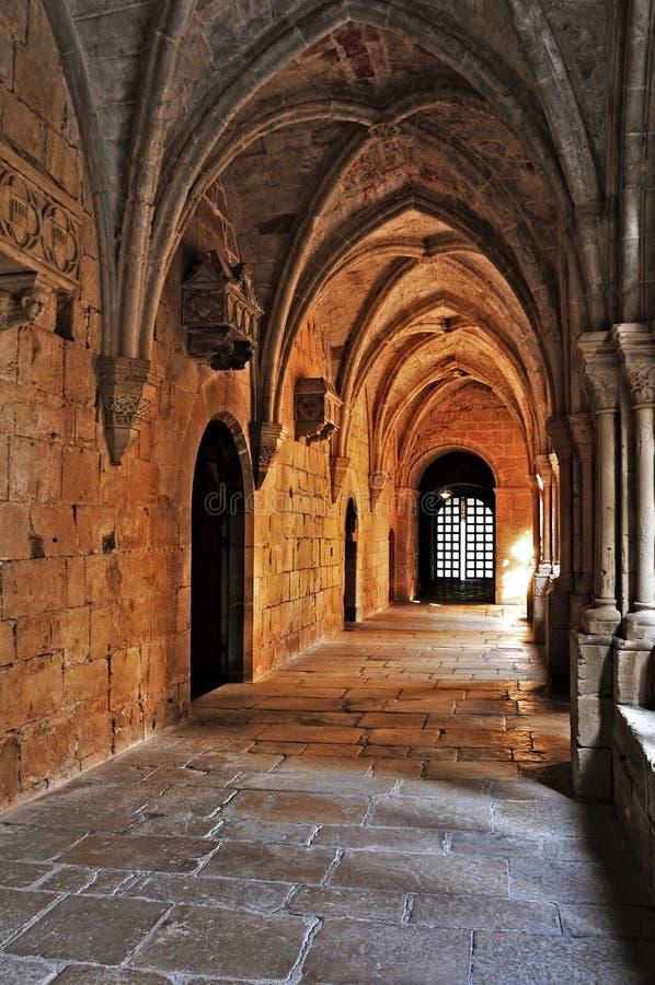 Monastère de Santa Maria de Poblet, Espagne photos stock