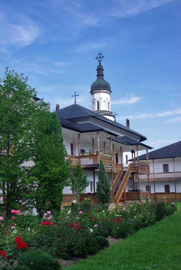 Monastère de Secu image libre de droits