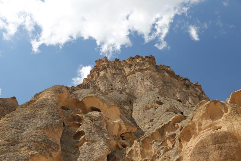 Monastère de Selime dans Cappadocia, Turquie image libre de droits