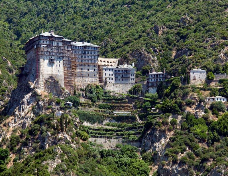 Monastère de Simonopetra photos libres de droits
