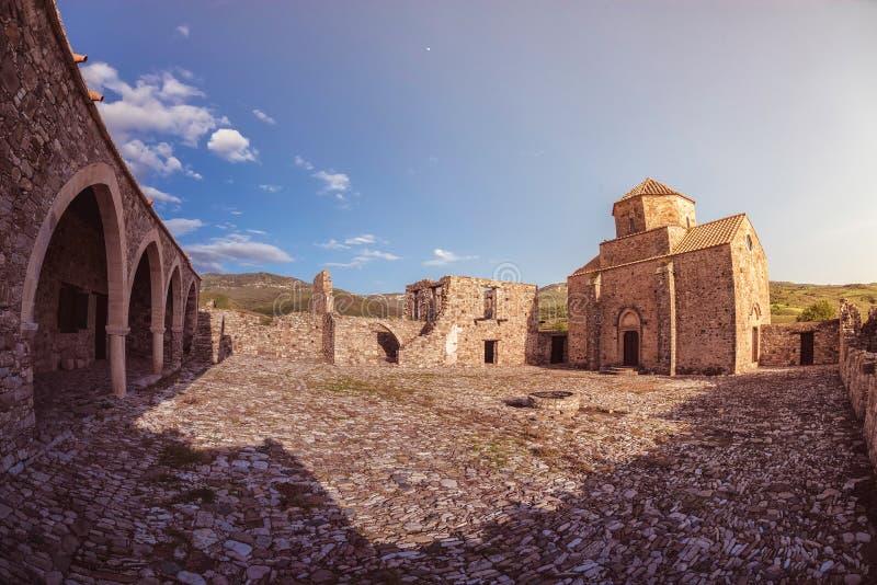 Monastère de Sinti de tou de Panagia Secteur de Paphos cyprus photographie stock