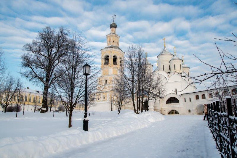 Monastère de Spaso Prilutskiy dans Vologda photo libre de droits