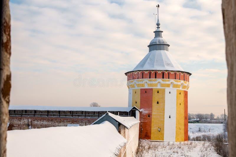 Monastère de Spaso Prilutskiy dans Vologda photos libres de droits