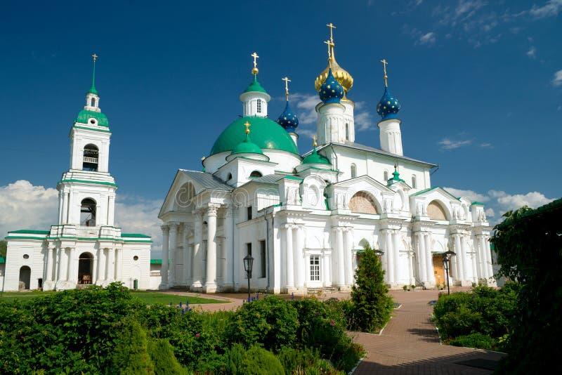 Monastère de Spaso-Yakovlevsky dans Rostov le grand photos libres de droits