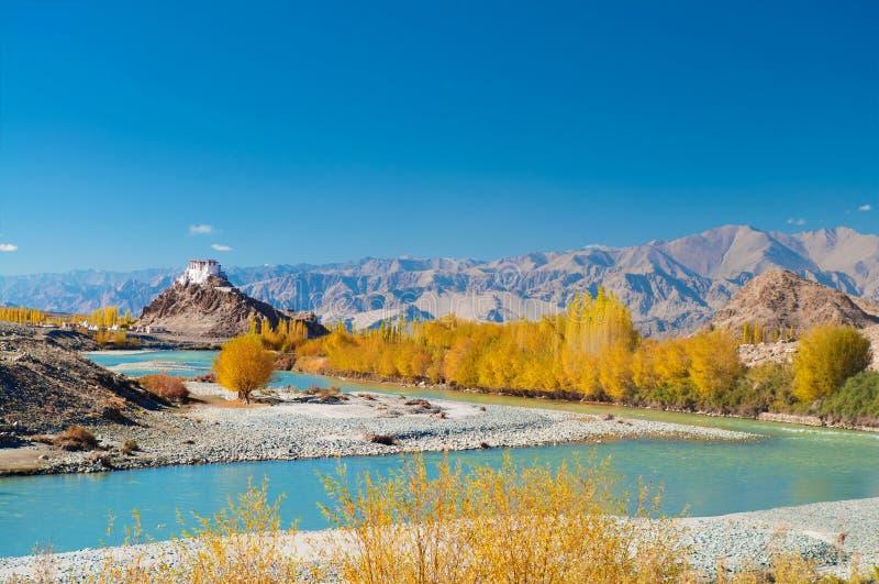 Monastère de Stakna, Leh, Ladakh, Inde photo libre de droits