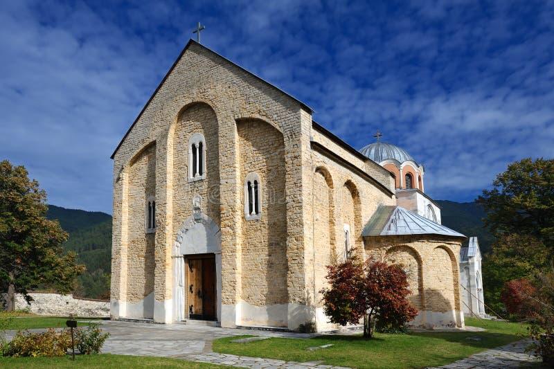 Monastère de Studenica photo stock