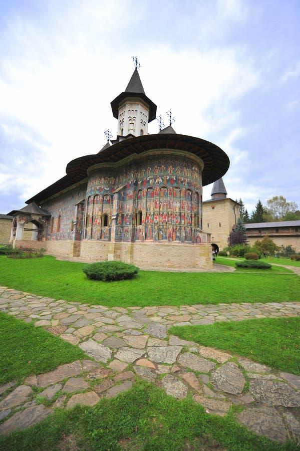 Monastère de Sucevita, Moldavie (Bucovina), Roumanie images libres de droits