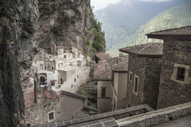 Monastère de Sumela à Trabzon, Turquie photo libre de droits