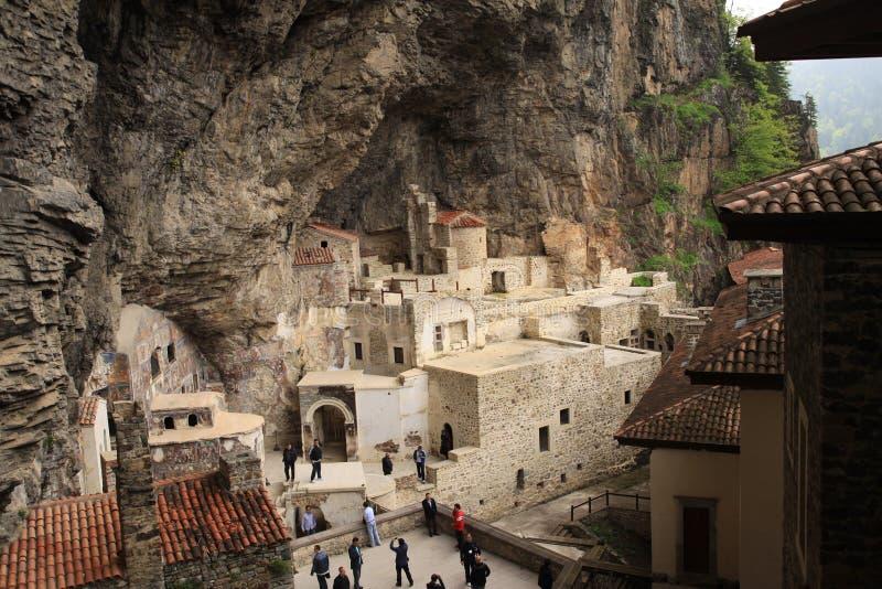 Monastère de Sumela photos libres de droits