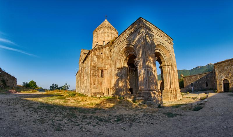 Monastère de Tatev en Arménie photo stock