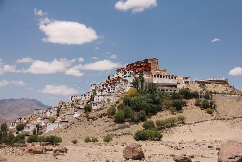 Monastère de Thikse photo libre de droits