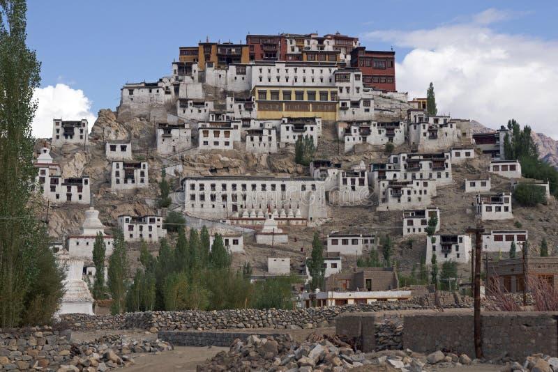 Monastère de Thikse dans Ladakh photographie stock