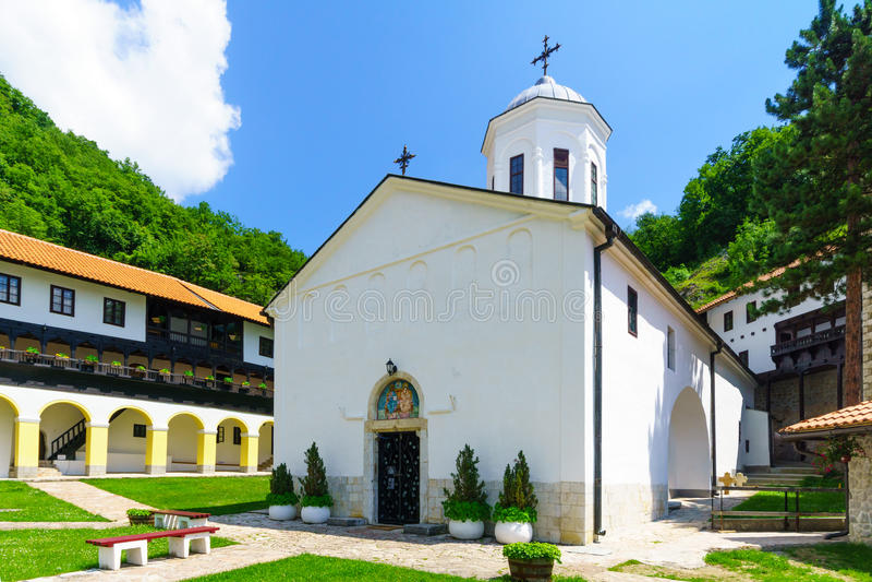 Monastère de trinité sainte, Pljevlja photo stock