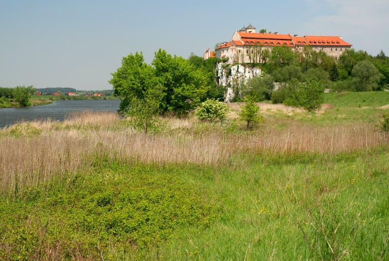 Monastère de Tyniec image libre de droits