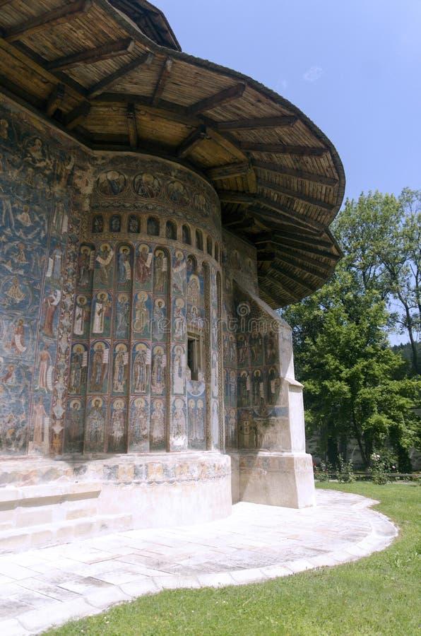 Monastère De Voronet Image libre de droits