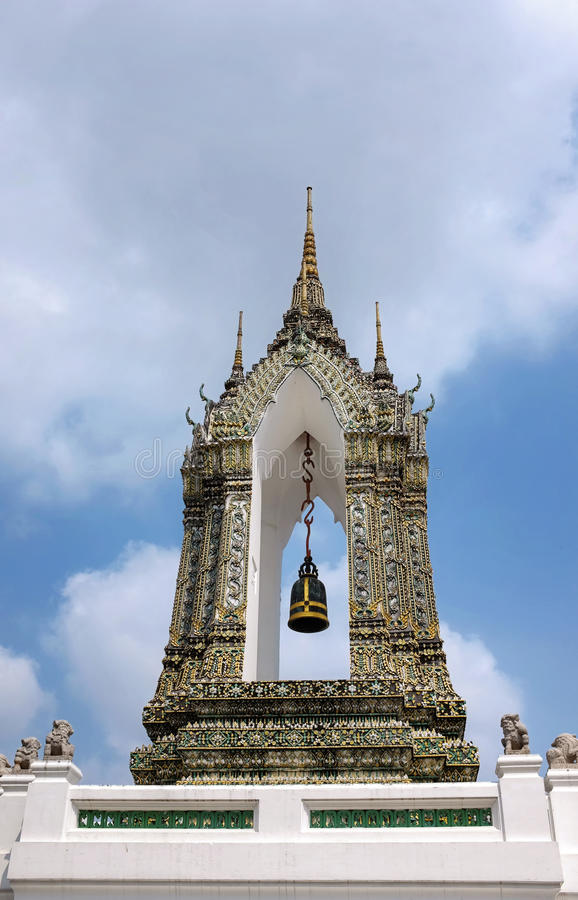 Monastère de Wat Pho - Thaïlande image libre de droits