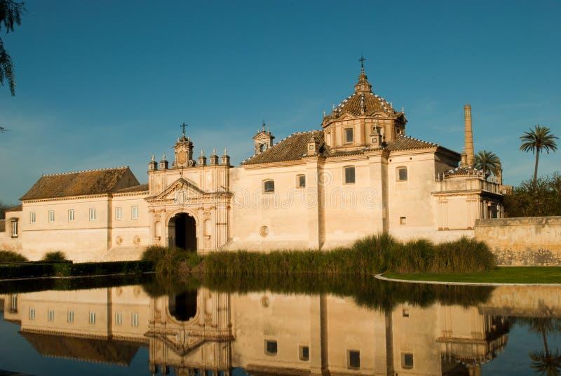 Monastère du Cartuja photo libre de droits