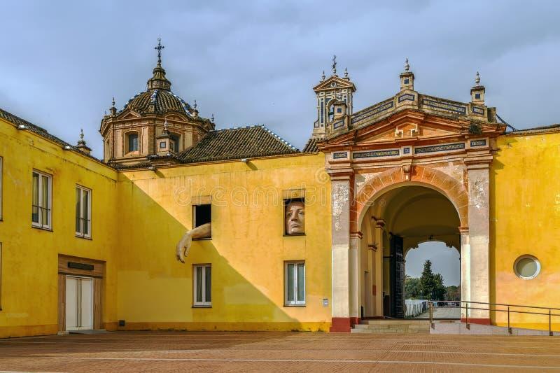 Monastère du Cartuja Charterhouse, Séville, Espagne image stock