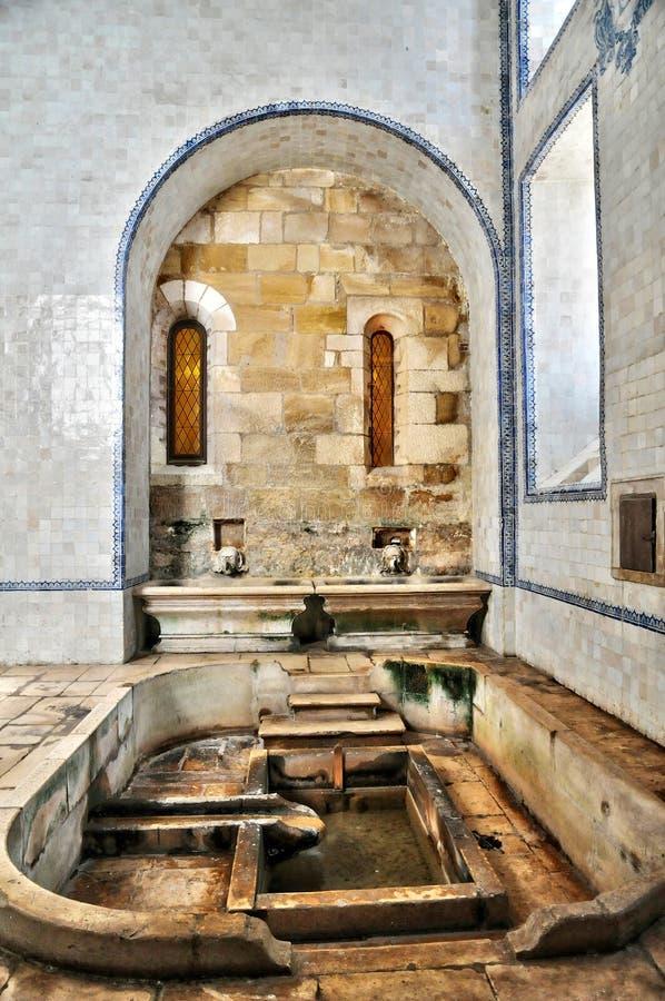 Monastère du Portugal, historique et du pisturesque d'Alcobaca image stock