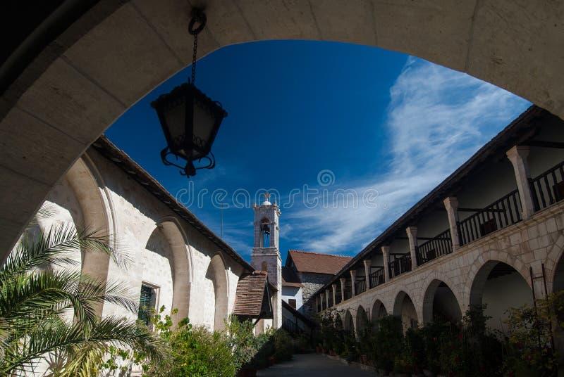 Monastère en Chypre photographie stock libre de droits