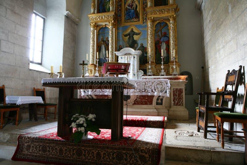 Monastère franciscain image stock