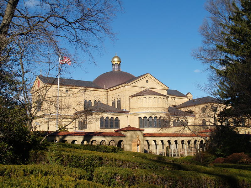 Monastère franciscain, Washington DC images libres de droits
