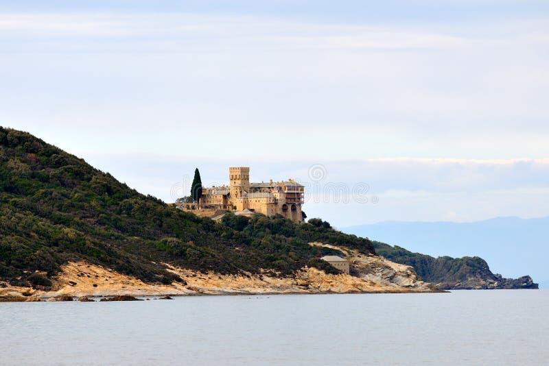 Monastère grec photos libres de droits