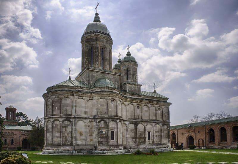 Monastère HDR de Dealu photos stock
