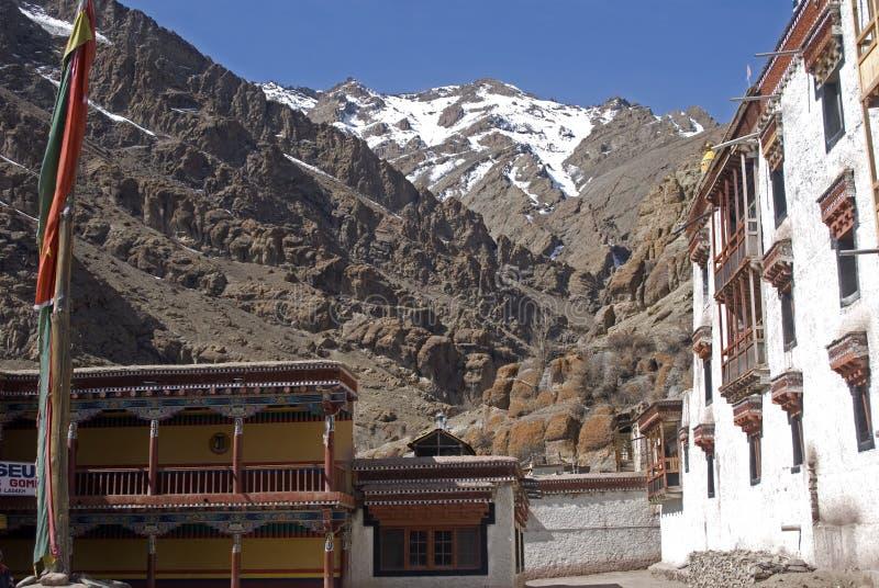 Monastère, Hemis, Ladakh, Inde images libres de droits