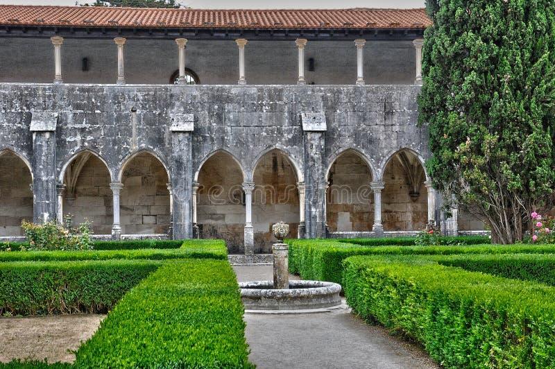 Monastère historique de Batalha au Portugal image stock