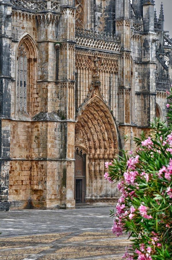 Monastère historique de Batalha au Portugal photo stock