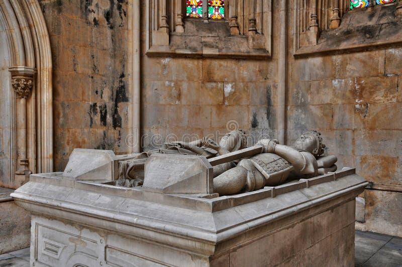 Monastère historique de Batalha au Portugal photographie stock