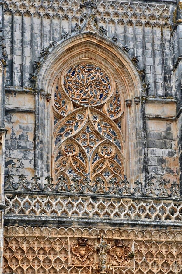 Monastère historique de Batalha au Portugal photos stock