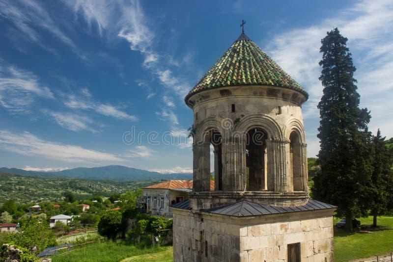 Monastère la Géorgie de Gelati images stock