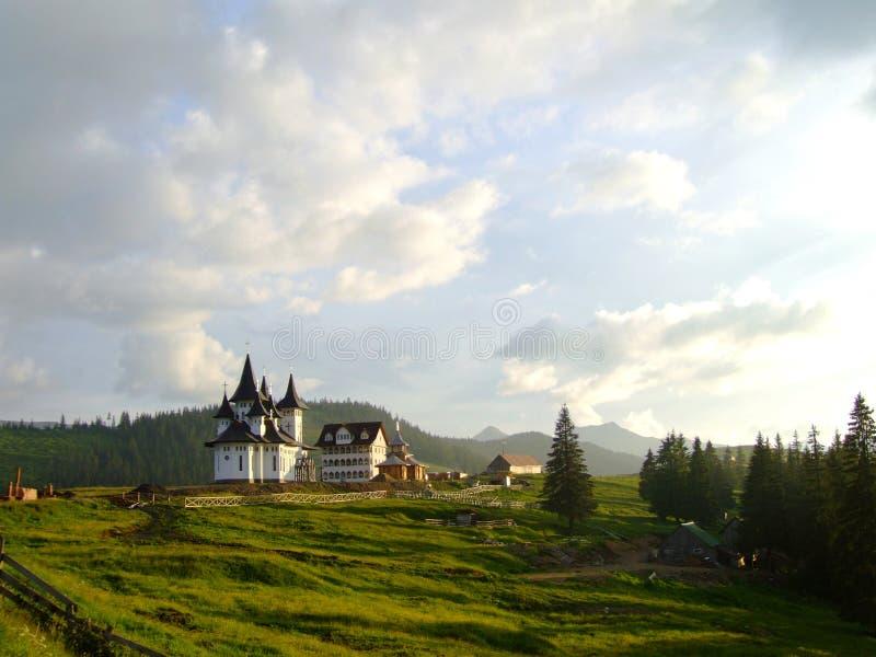 Monastère Maramures de Prislop image libre de droits
