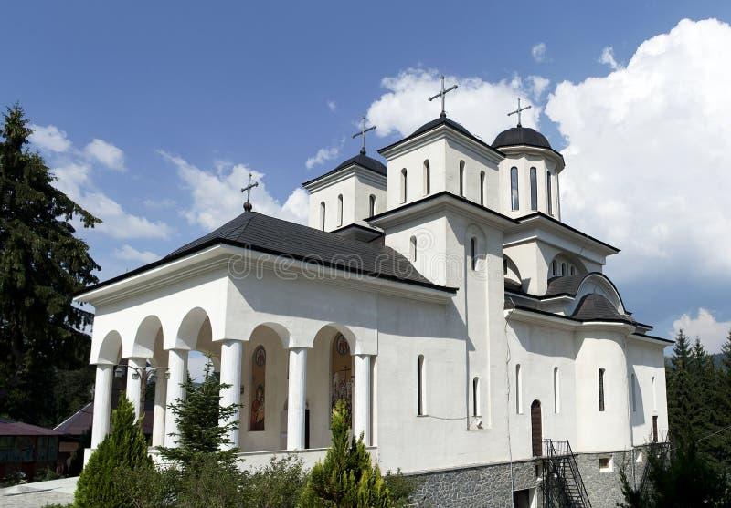 Monastère orthodoxe de Caraiman photos libres de droits