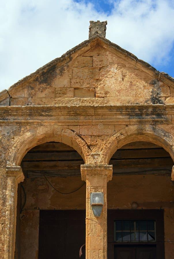 Monastère orthodoxe de détail architectural image libre de droits