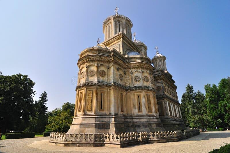 Monastère orthodoxe roumain photo stock