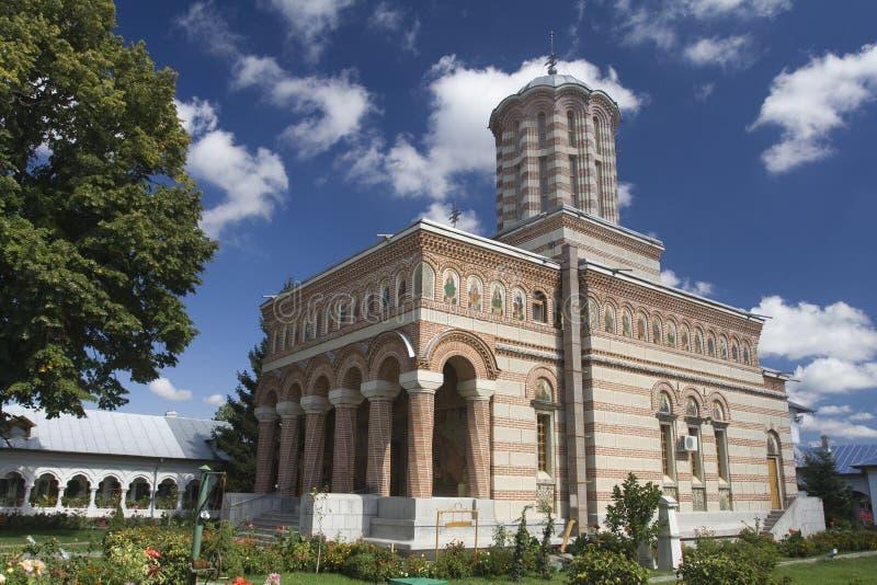 Monastère orthodoxe roumain images stock