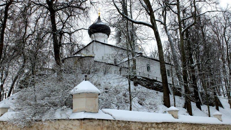 Monastère orthodoxe Svyatogorsk photo stock