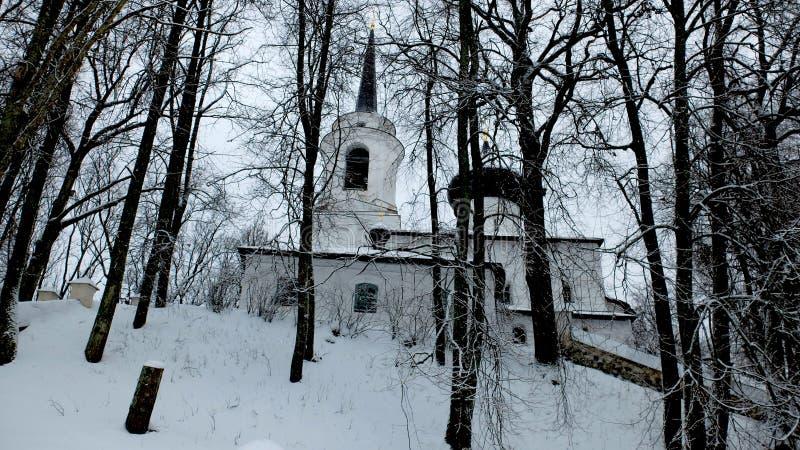 Monastère orthodoxe Svyatogorsk photographie stock libre de droits