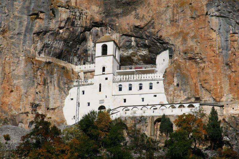 Monastère Ostrog photographie stock libre de droits