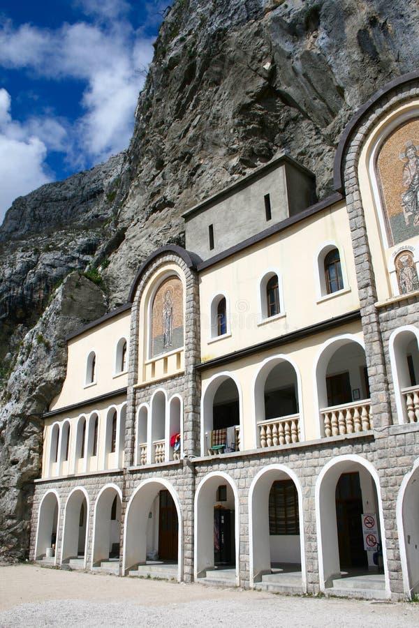 Monastère Ostrog photographie stock