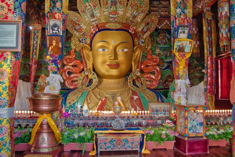 Monastère parfait de Leh d'image photos stock