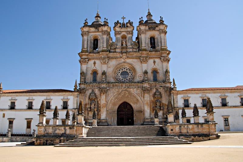 monastère Portugal d'alcobaca photos libres de droits
