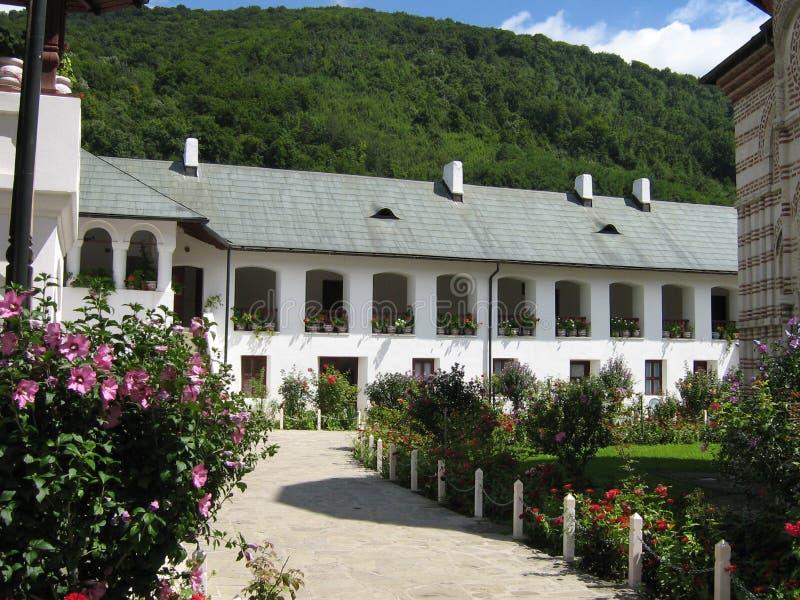 Monastère Roumanie de Cozia photo libre de droits
