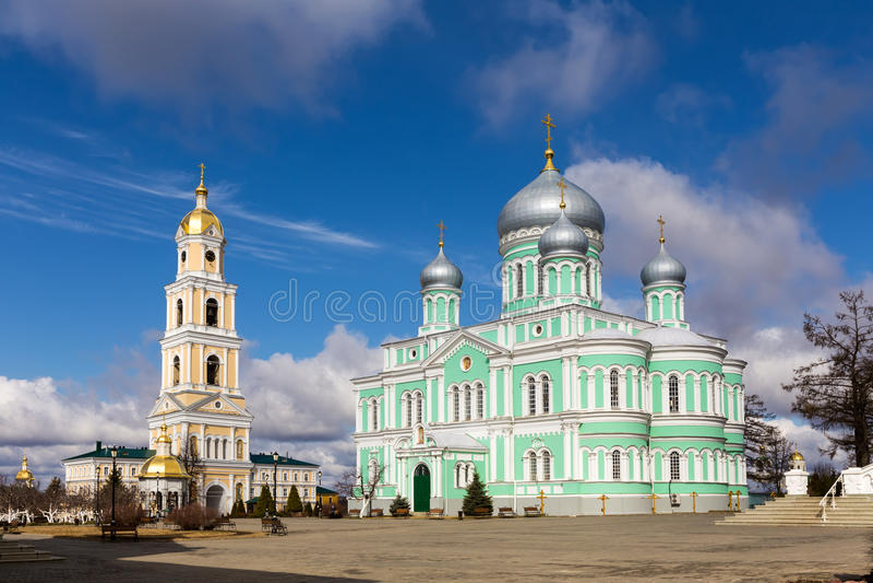 Monastère saint de séraphin-Diveyevo de Trinité-saint Nizhny Novgorod images libres de droits