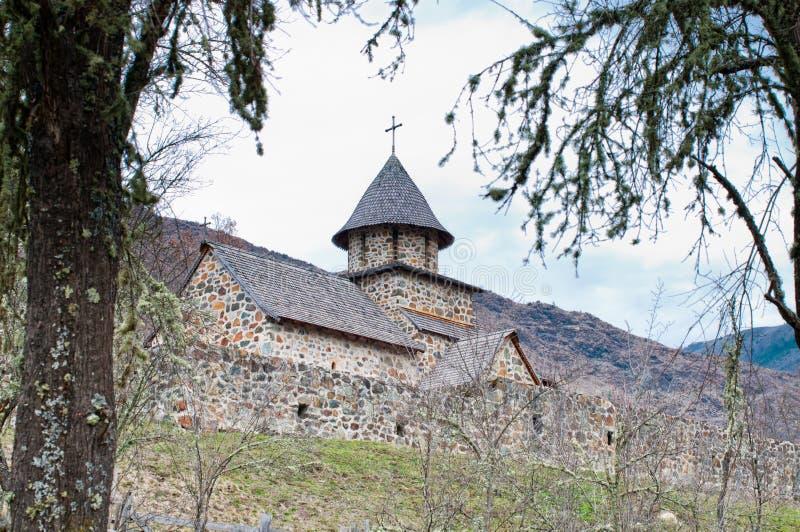 Monastère d'Uvaz photo libre de droits