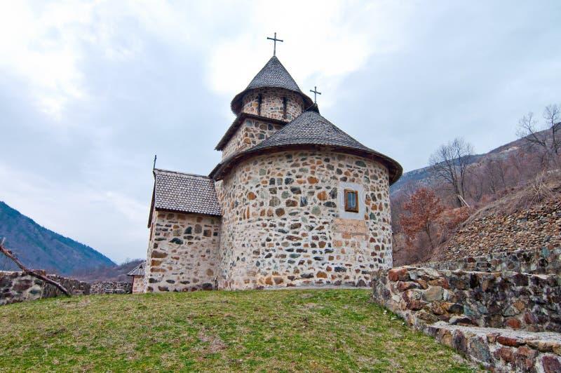 Monastère d'Uvaz images stock