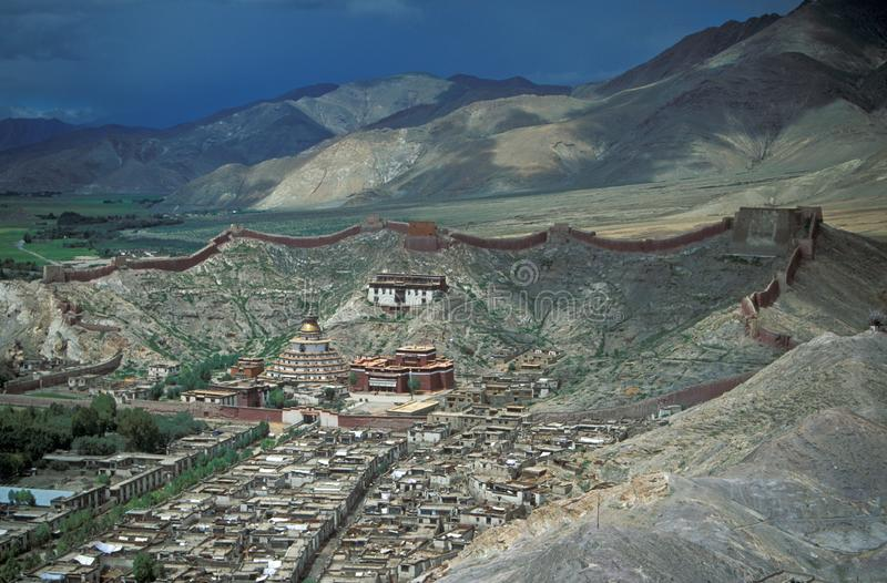Monastère tibétain images stock